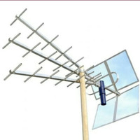 Antena TV DIGITAL Analog HD TITIS UHF OutDoor Sinyal Super Peka