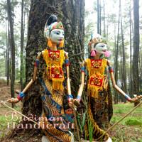 Wayang Golek Arjuna & Srikandi (Dijual Satuan)