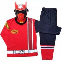 Baju Tidur Anak / Piyama Anak / Kostum Topeng Power Rangers