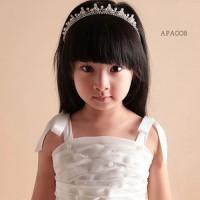 Mahkota Bando Pesta Anak l Tiara Crown Rambut Anak Putri - APA 008
