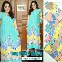 Gamis rayon murah / longdress batik / baju tidur / baju menyusui