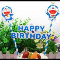 toper topper cake doraemon dekorasi design kue ulang tahun lucu boy