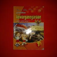 buku pelajaran pendidikan kewarganegaraan SD kelas 1 BSE