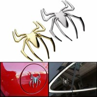 Emblem / Logo 3D Metal Mobil & Motor Karakter Spiderman