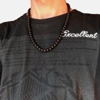 Kalung Kesehatan / Kalung Batu / Onyx Hitam Tasbih Giok Pria