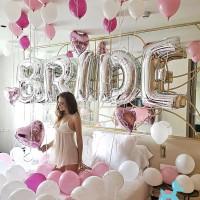 Balonasia 1set Dekorasi Ballon Bridal Shower - Bride To Be