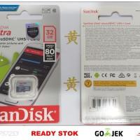 Memory Micro SD Sandisk Ultra 32 Gb 80 Mbps Class 10 Original