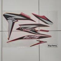 Striping Sticker Lis Honda Vario 125 FI Techno 2012 2013 Merah