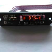 Kit Mp3 Bluetooth + Display Lampu Equalizer