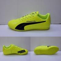 sepatu olahraga bola futsal puma evo speed sl import hijau 39-43