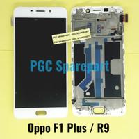 LCD Touchscreen Fullset + Frame Original OEM Oppo F1 Plus - R9 - F1+