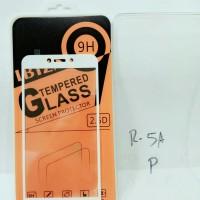 tempered glass anti gores full cover layar xiaomi xiomi redmi 5a putih