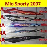 Mio Sporty 2007 Stiker Stripping List Striping
