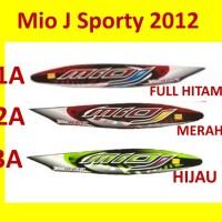 Mio J Sporty 2012 Stiker Stripping List Striping