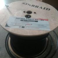 KABEL ANTENA TV RG6 / 5C MATRIX (meteran per 1 m)