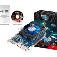 VGA GPU HIS RADEON R7 R 7 240 iCooler 2GB 2 GB DDR3 128 BIT