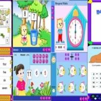 Program Belajar Pendidikan Anak Sekolah DVD Game Learning Kid Balita
