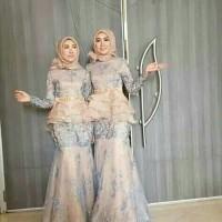 Jahit Butik Baju pesta muslimah Baju muslim Baju pesta ibu dan anak