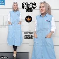 Baju Atasan Wanita Muslim Blouse Fila #3 Tunic Lava