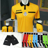 Paket Baju Wasit Sepakbola Joma / Paket Baju Referee Futsal
