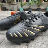 Sepatu Bola Ortuseight Blitz FG Black Gold Original
