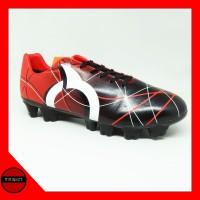 Sepatu Bola Ortuseight Ventura FG Red Black White Original