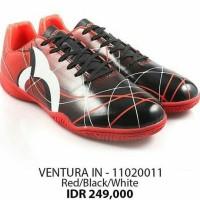 Sepatu Futsal OrtusEight Ventura In Red Black White Original