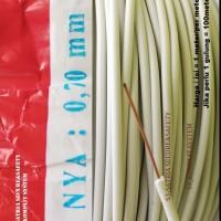 Kabel Listrik NYA 0.7 tunggal rakit Lampu TL balast 0.7mm kecil 0,7 mm