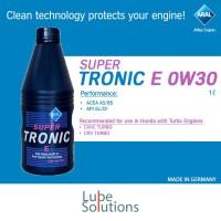 OLI ARAL SUPER TRONIC E 0W-30 FOR HONDA TURBO (100% FROM GERMANY)