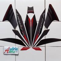 Striping Stiker Motor Yamaha New Vixion 2014 Hitam