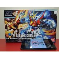 HG Try Burning Gundam Asli Gunpla Bandai Murah