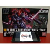 HG RX BLUE DESTINY UNIT 2 EXAM Gundam Asli Gunpla Bandai Murah