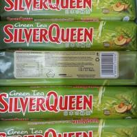 Coklat Green Tea Silverqueen Silver Queen nishio matcha 65g