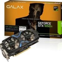 VGA GALAX nVidia Geforce GTX 1050 Ti EXOC EXTREME OVERCLOCK 4GB DDR5