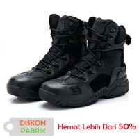 Sepatu Spider 8 inch 566 Boots Hitam Tactical Safety Army