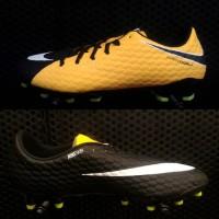Hypervenom Phelon III FG - Black Orange | Sepatu Bola Nike Original