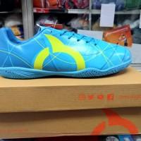 Sepatu Futsal Ortuseight Ventura In Blue Pale Cyan Minion Yellow