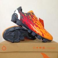 Sepatu Bola Ortuseight Blizzard FG - Tangerine/Cool Grey/White