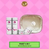 [PAKET 4 IN 1] Perawatan Wajah Arischa Beauty Secret - BPOM Halal MUI