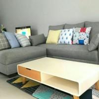 Sofa L putus - L Santay Minimalis free ongkir Jabodetabek