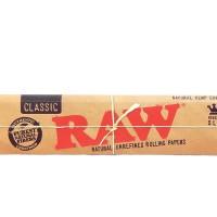 Jual Rolling paper Raw Kingsize + Tbk STrawberry Mint 3gr