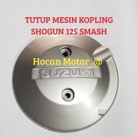 TUTUP BAK KOPLING SILVER SHOGUN 125 110 SMASH ARASHI DLL