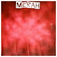 background foto abstrak merah ukuran 2,5X3M bahan kain