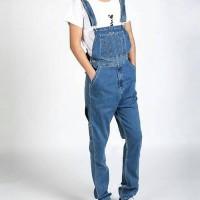 baju kodok jeans cowok celana lucu overall man jumper pria mens long