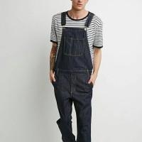 overall man baju kodok jeans hitam cowok celana lucu jumper pria mens