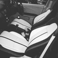 Sarung Jok Mobil Honda Brio (Ready Stock) HITAM PUTIH