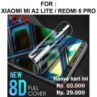 SCREEN GUARD Xiaomi Mi A2 Lite - Redmi 6 Pro anti gores full HYDROGEL