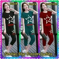 Baju Wanita Pakaian Perempuan Setelan Star Convers Ladies
