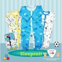 LIBBY 3 Pcs Sleepsuit Bayi / Baby Premium (Boy / Girl)