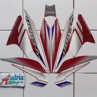 Sticker Striping Motor Yamaha New Vixion 2014 Ungu